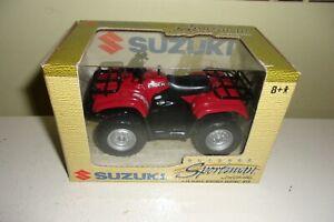 Ertl Collectibles Outdoor Sportsman 1/18 scale Suzuki EIGER ATV 4-wheeler NIB