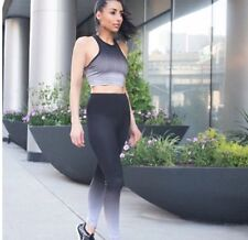 Authentic BEYOND YOGA Fade To Black High Waisted Long Legging Size Medium $143.