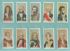 More details for people -  c.c.s. repros (of wills)  -  set  of  50  builders of the empire cards