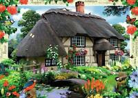 Ravensburger 19022 Country Collection River Cottage 1000 Piece Jigsaw Puzzle New