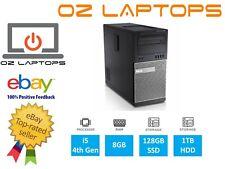 Dell Optiplex 9020 MT i5-4570 3.20GHz 8GB RAM 128GB SSD + 1TB HDD Win10