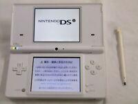 X4443 Nintendo DSi console White Japan w/stylus pen