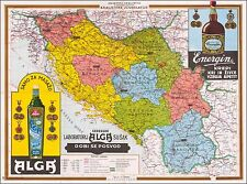 Kingdom of Yugoslavia 1929 promotional pictorial map POSTER 46651