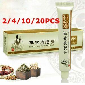 2-20x Chinese Herbal Hemorrhoids Piles Cream -Antibacterial Cream-Ointment Piles