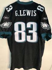 Reebok Authentic NFL Jersey Philadelphia Eagles G.Lewis Black Alternate sz 54