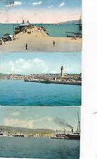 3 Karten aus Triest, Italien    (B24)