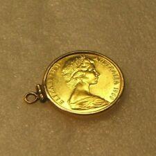 1980 AUSTRALIA ~ $200 GOLD KOALA COIN IN 14KT BEZEL ~ JUST ADD NECKLACE