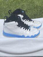 Nike Air Jordan Fusion 9 White University Blue Size 10.5 2008 352753-101 ajf9