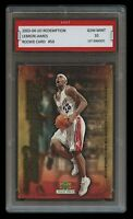 2003 LEBRON JAMES UD REDEMPTION 1ST GRADED 10 ROOKIE CARD #59 CAVALIERS/LAKERS