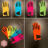 Children Equestrian Horse Riding Gloves & Outdoor Gloves kids Gloves Youth Sizes