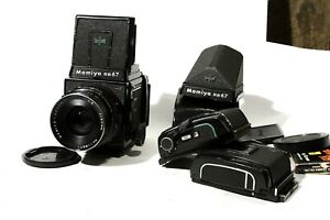 Mamiya RB67 proS outfit with extras, solid