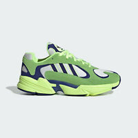 adidas Originals Mens Yung-1 shoes in retro runner style green