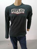Maglia REPLAY Uomo Taglia Size XL Sweater Man Pull Homme P7259