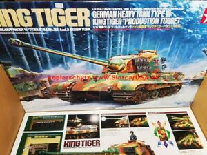 Tamiya 56018 1/16 RC German Heavy Tank Type VI King Tiger Production Option