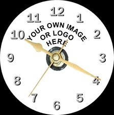 Your Own Photo/Design Or Logo On A Novelty Cd Clock