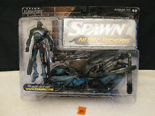 Spawn FLASH POINT Nitro Riders Action Figure with Motorcycle NEW McFarlane Toys