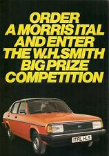 Morris Ital Company Car Driver Competition 1981 UK Market Foldout Brochure