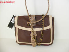 BRAND NEW M Style Lab MSTYLELAB WOMENS  FAUX LEATHER SHOULDER BAG PURSE