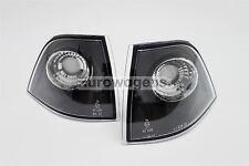 BMW Serie 3 E36 92-98 Negro intermitentes delanteros Set Par 2 puertas