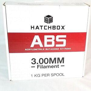 HATCHBOX ABS 3D Printer Filament 3.0mm, Blue 1KG