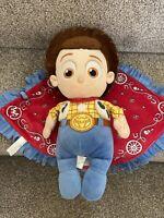 Disney Babies Woody Sheriff Soft Toy Plush Blankie Toy Story