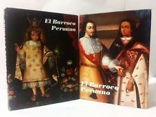 EL BARROCO PERUANO DOS TOMOS- TWO TOMOS- ESPAÑOL- THE PERUVIAN BAROQUE