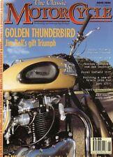 Classic Motorcycle Jun 01 Triumph Thunderbird Royal Enfield 350T  Benelli