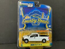 Greenlight Ford F150 with Ladder Rack 2015 County Roads 29830 1/64 Rare