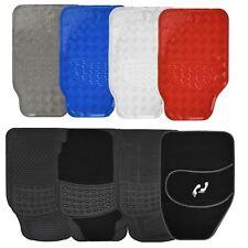 Heavy Duty Universal Car Floor Mat Set Non Slip Grip Rubber Carpet Front Rear