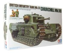 Tamiya 1/35 scale WW2 British Churchill VII tank model kit