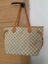 Neverfull White Bag