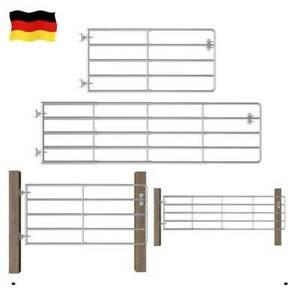 Metall Zauntor Weidetor Weidezauntor Weidezaun Tor Set Stahltor Stahl Größenwahl