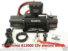 Terrafirma A 12000LB 4x4 Recovery Winch 12,000lb 12v Synthetic Rope - TF3301