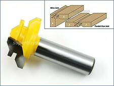 45 Degree Mitre Miter Parallel Lock Corner Joint Router Cutter Drill Bit Tool