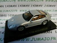 FER15 voiture 1/43 IXO altaya FERRARI  : 575 M Maranello grise