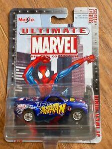 2003 MAISTO ULTIMATE MARVEL COLLECTION SERIES 1 SPIDER-MAN CHEVROLET SSR TRUCK
