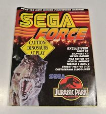 Vintage Nintendo SEGA FORCE Guide Magazine