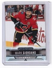 2017-18 Upper Deck Overtime Mark Giordano Calgary Flames card # 83