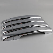 4 Pcs New Chrome Door Handle Cover Trim For NISSAN Qashqai Maxima 2007-2012
