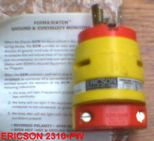 ERICSON 2310-PW 20 Amp 125 V L5-20R PLUG PERMA WATCH
