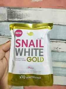Snail White Gold Glutathione Collagen Plus 10 Whitening Skin Soap Au Seller