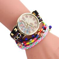 Fashion Womens Lady Girl Stainless Steel Dial Bracelet Analog Quartz Wrist Watch