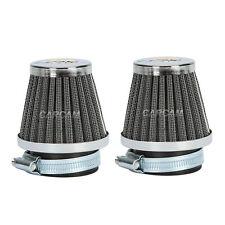 2x 48mm Air Filter Pod Fit Yamaha DT250 XS250 XS250SE XS400 XS400SE XT500(76-80)