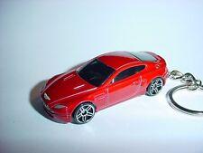 NEW 3D ASTON MARTIN  V8 VANTAGE CUSTOM KEYCHAIN keyring key DARK  RED finish