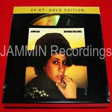 JANIS IAN - Between The Lines - 24 KT Gold CD - At Seventeen