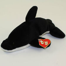 TY Beanie Baby - SPLASH the Whale (2nd Gen Hang Tag - MWCTs)