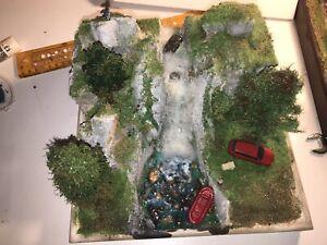 Ho scale 1/87 Tropical Beach diorama