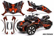 AMR Racing CanAm Spyder F3-S Roadster Graphic Kit Street Bike Decal Wrap MLTD O