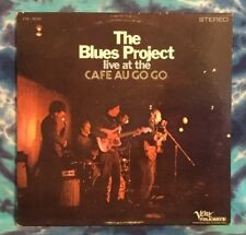 The Blues Project LP Live At The Cafe Au Go Go   DG  Deep Groove  VERVE FOLKWAYS