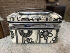 Vintage Samsonite Fashionaire Traincase Luggage Marimekko suitcase Tray Mirror